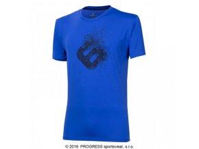 triko krátké pánské Progress COMMANDER modré