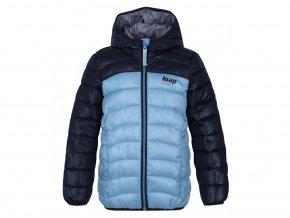 bunda dětská LOAP IMEGO zimní modrá