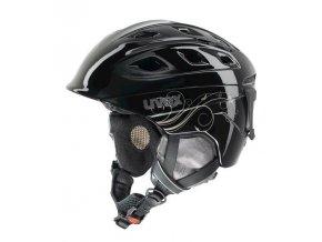 helma UVEX FUNRIDE 2 LADY, black/gold (S566150260*)