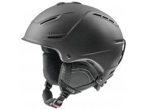 helma UVEX P1US 2.0, black met mat (S566211200*)