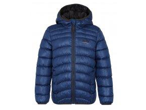 bunda dětská LOAP INFERY zimní modrá