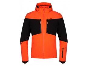 bunda pánská LOAP FAVOR zimní oranžová