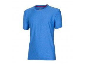 triko krátké pánské Progress PRIMITIV modrý melír