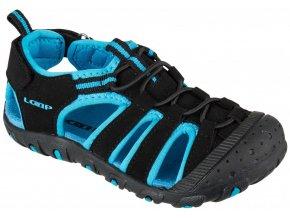 boty dětské LOAP DOPEY sandály černo/modré