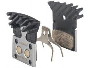 brzdové destičky Shimano DURA-ACE L04C kovové original balení