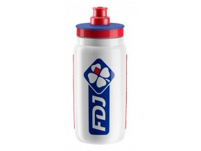 lahev ELITE FLY TEAM FDJ bílá 550 ml
