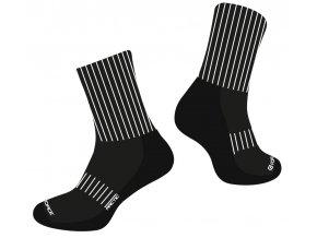 ponožky FORCE ARCTIC, černo-bílé