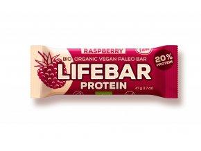 tyčinka Lifefood Lifebar Protein Bio Raw malinová