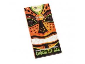 čokoláda Lifefood Bio Raw pomerančová 70g