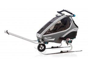 QERIDOO Příslušenství - Ski set pro modely Kidgoo a Sportrex 2020 2021