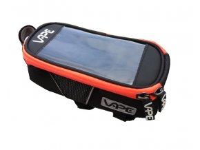 brašna Vape SMB přední na mobil neon červený zip