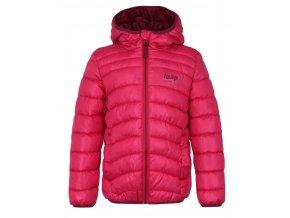 bunda dětská LOAP INFERY zimní růžová