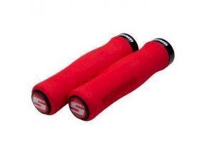 00.7915.068.080 - SRAM SRAM LOCKING GRIPS FOAM CONT 129 RED/BLK