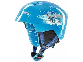 helma UVEX MANIC, blue snow dog (S566226400*)