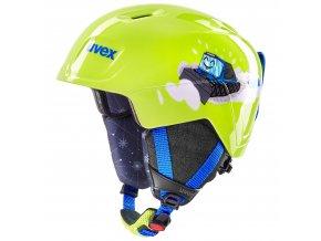 helma UVEX MANIC, lime caterpillar (S566226610*)