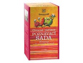 čaj poznávací sada - ovocné variace Sonnentor 47,6g