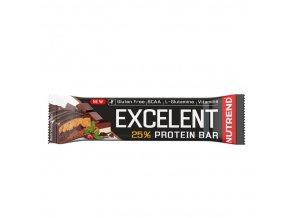 tyčinka Nutrend Excelent DOUBLE čokoláda 85g exp. 02/21