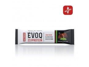 tyčinka Nutrend EVOQ čokoláda+máta 60g exp. 02/21