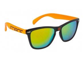 brýle FORCE FREE černo-oranžové, oranž. laser skla