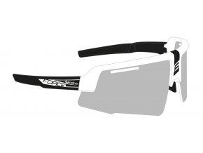 brýle FORCE IGNITE, bílo-černé, fotochrom. skla