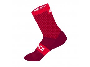 ponožky FORCE TRACE, červené