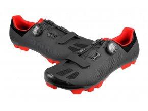boty FLR F-70 černo/červené
