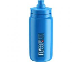 lahev ELITE FLY 20 modrá/modré logo 550 ml