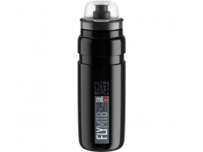 lahev ELITE FLY MTB 20 černá/šedé logo 750 ml
