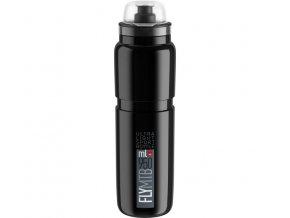 lahev ELITE FLY MTB 20 černá/šedé logo 950 ml