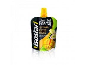 gel ISOSTAR FRUIT ENERGY ACTIFOOD exotické ovoce 90g
