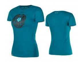 KELLYS Tričko WOMEN´S MOUNTAIN krátký rukáv Blue