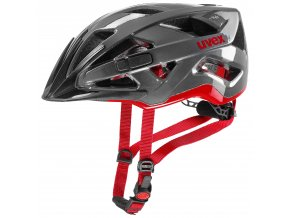 19 UVEX HELMA ACTIVE, ANTRACITE RED