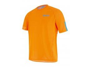 SANTINI SPRING+SUMMER 2021 MTB jersey SASSO / MTB DRES - AF - Flashy orange 2021