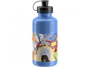 lahev ELITE Vintage L´eroica Il Ciclista modrá, 500 ml