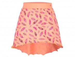 sukně dívčí LOAP BATLEE oranžová