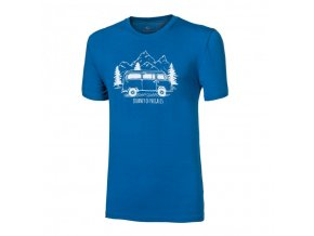 triko krátké pánské Progress PIONEER BULLI modré