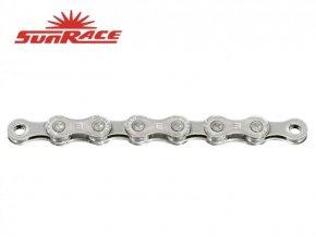 řetěz SunRace CNM9E 9k E-BIKE 138čl. stříbrný nebalený