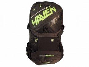 batoh HAVEN RIDE-KI 22l černo/zelený bez rezervoáru