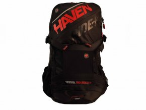 batoh HAVEN RIDE-KI 22l černo/červený bez rezervoáru