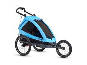 [2555] S'COOL TaXXi Elite 1 Cyklovozík modrý