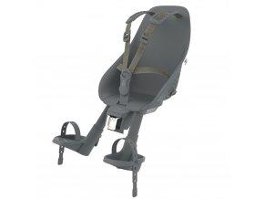 [212665] Urban Iki Přední sedačka na kolo s upínacím adaptérem (Bincho Black Bincho Black)