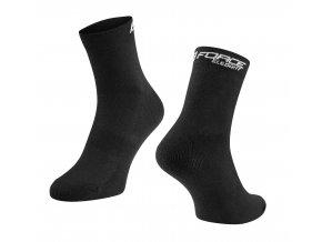 ponožky FORCE ELEGANT nízké, černé