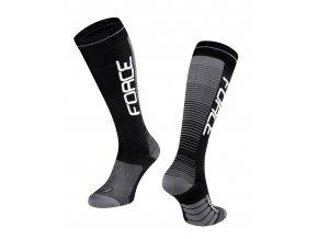 ponožky F COMPRESS, černo-šedé