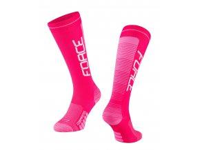 ponožky F COMPRESS, růžové