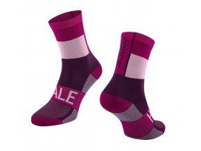 ponožky FORCE HALE, fialové