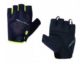 rukavice pánské CHIBA BIOXCELL SUPER FLY černo/fluoritové