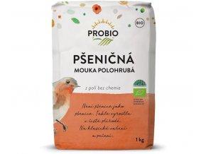 mouka pšeničná polohrubá PROBIO 1kg exp.10/21