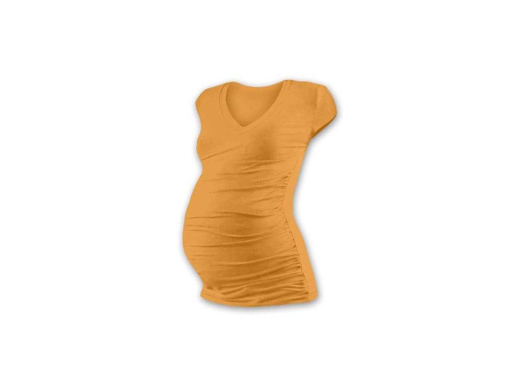 ce584f8c384c Jožánek VANDA Těhotenské tričko s výstřihem