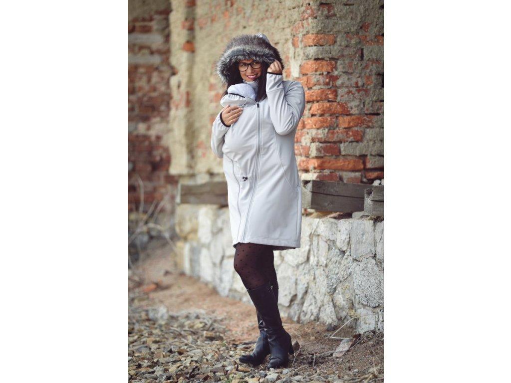 Angel wings Softshellový kabát s kožíškem - Brouczech.cz 4b33790f46