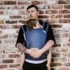 fidella fusion 2 0 baby carrier with buckles classic chevron denim blue toddler~8